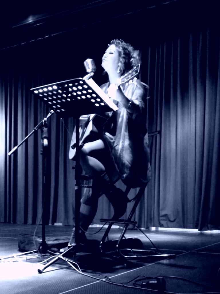 Siinger-Songwriter Alexandra Stegh
